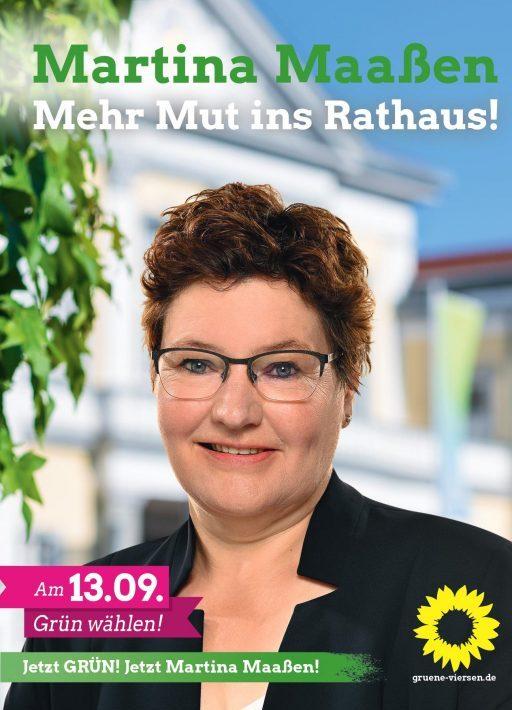 Unsere Bürgermeisterkandidatin>>>>>